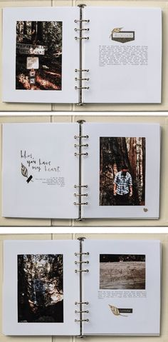 Do it yourself valentine love book gift diy valentine and diy big sur big ten album vanessa perry pictures and text combinated in album writed with machine type solutioingenieria Gallery