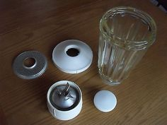 Kenwood Chef Glass Liquidiser A700/ A701 Very Early Edition. 2