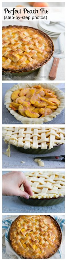 You have to try this deep dish peach pie! It's wonderful and not overly sweet…