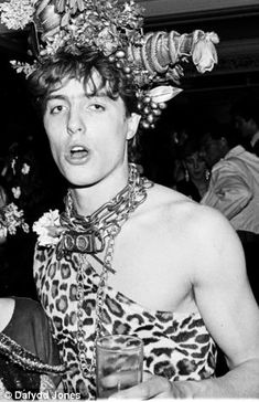 Wild thing: Hugh Grant at the annual Piers Gaveston Ball in 1983
