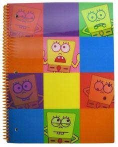 Nick Jr Spongebob Squarepants Notebook - Lenticular Graphics by Nick Jr. $4.99