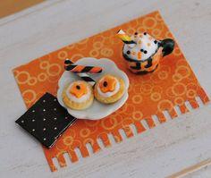 Miniatura Snacks Galletas Dulces de Halloween Por LittleThingsByAnna