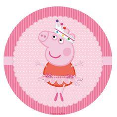Para personalizar, imprimir y disfrutar de un cumple o baby shower temático!   Para descargarlo completo ingresá el siguiente enlace:   Ki... Peppa Pig Funny, Cumple Peppa Pig, Teddy Pictures, Party Printables, Birthday, Bb, Candy, Tags, Ideas