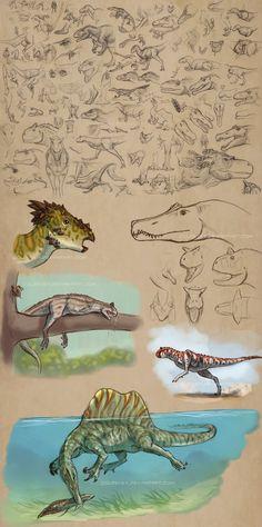 Dino Doodle Dump by Coldevey