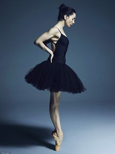 Tamara Rojo, pictured, is artistic director of the English National Ballet. She was one of dozens of ballet dancers photographed in Rick Guest's studio for his book and exhibition, What Lies Beneath Ballet Real, The Royal Ballet, Ballet Body, Ballet Art, Ballet Dancers, Shall We Dance, Just Dance, Ballet Inspired Fashion, What Lies Beneath
