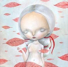 "Dilka Bear, ""Dream of falling leafs"""