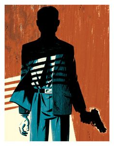 Michael Cho - Two Tone Illustrations