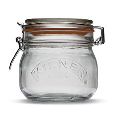 Kilner Cliptop Round Preserving Jar, 0.5L