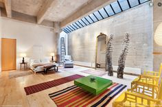 $5.4M Concrete Perry Street Loft Has One Window With a View - On the Market - Curbed NY
