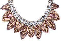 Bijou Brigitte  Necklace - Pastel Collar