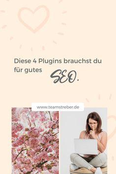 4 Plugins die du für gutes SEO brauchst. | MAREIKE, WELCHE PLUGINS NUTZT DU? | Ich bin Mareike, deine zukünftige Webdesignerin und bei mir geht es um folgende Themen: Online verkaufen und Webseiten erstellen lassen. Denn bei mir gibt es die Hopage die verkauft gleich ums Eck (Wiesbaden, Weiterstadt, Darmstadt, Mainz, Griesheim, Großgerau, Riedstadt, Südhessen & Büttelborn) #teamstreber Business Tips, Online Business, Web Design, Seo Keywords, Search Engine Optimization, Facebook Sign Up, Social Media Marketing, Freebies, Instagram