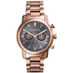 Michael Kors Pennant Mk8370 Grey Chronograph Men's Watch