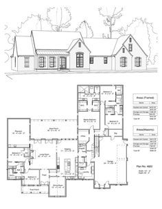 The Home Decor Guru – Interior Design For Bedrooms Cottage House Plans, New House Plans, Dream House Plans, Cottage Homes, Building Plans, Building A House, Cabin Floor Plans, Construction, House Layouts