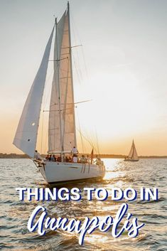 From visiting historic sites to exploring charming downtown to sailing the Chesapeake Bay, there are lots of awesome things to do in Annapolis, Maryland. Us Travel Destinations, Places To Travel, Places To See, Travel Sights, Vacation Trips, Day Trips, Weekend Trips, Weekend Getaways, Canada Travel