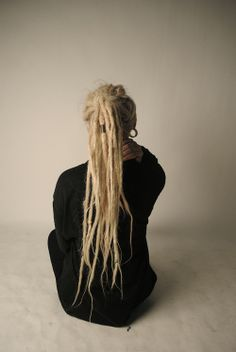 blonde dreadlocks   via Tumblr :: #dreadstop