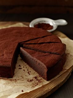 "Chocolate Mud Cake aus ""Das Backbuch"""