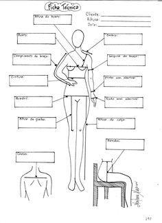 Ficha Técnica da Cliente | molde, corte e costura – Marlene Mukai