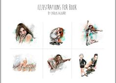 Illustrations for book