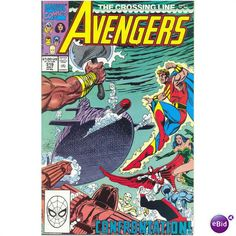 Avengers #319. Vol1. Marvel 1990. Nicieza. VFN- Listing in the…