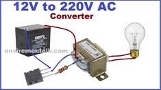 This artical shows how you can build a DC to AC converter wtih single transistor. There are two circuits for DC to AC inverter but these . Electronics Mini Projects, Electrical Projects, Electrical Engineering, Diy Generator, Inverter Generator, Electrical Transformers, Electronic Circuit Design, Electrical Circuit Diagram, Power Supply Circuit