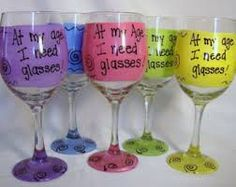 1000 images about glass clear transparent diy crafts on pinterest glass paint glitter - Funny wine glasses uk ...
