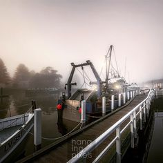 Cray Boat on spring foggy morning : Canon 5D MKIII : Canon 16-35 ƒ/2.8 II : 1/40 ISO200 ƒ/5.6 : N/A : VIC AU  #amazing_australia #australia #australiagram #bestofaustralia #exploreaustralia #ig_australia #seeaustralia #wow_australia #NatGeoLandscape #ausfeels #visitvictoria #liveinvictoria #ilovevictoria #portfairy #portfairypics #greatoceanroad #VisitGreatOceanRoad #warrnambool #destinationwarrnambool #wharf #fishing #lobster #pods #boat #harbour #fog by hangingpixels_photo_art