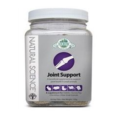 Natural Science Joint Support is a high-fiber supplement containing various beneficial ingredients to support the overall joint health of your pet. Glucosamine aids in the prevention of cartilage dege