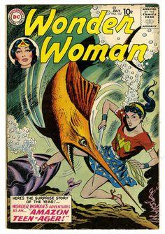 Irwin Hasen | Wonder Woman #107 | Silver Age | DC | 1959