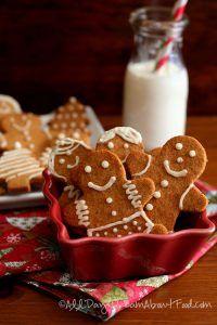 Low Carb Gingerbread Men Cookie Recipe
