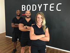 Meet the team at our Bodytec Kyalami studio. Middle: studio owner Jermaine, left: Siyasanga, right: Robin Meet The Team, Motivation Inspiration, Ems, Robin, Trainers, Middle, Lifestyle, Studio, Healthy