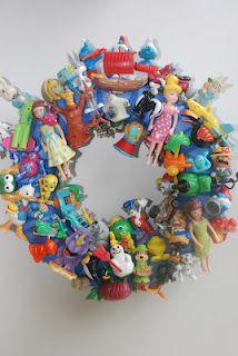 Speelgoed krans