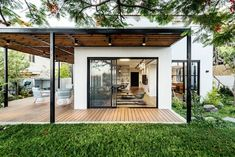 Diy Awning, Modern Porch, Spanish Style Homes, Apartment Renovation, Decks And Porches, Australian Homes, Interior Styling, Interior Design, Outdoor Gardens