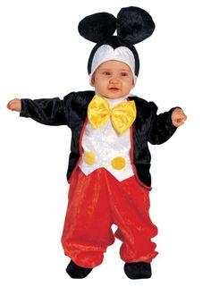 Baby Kostüm süße Maus, Mauskostüm, Babykostüm Maus, Kleinkinderkostüm Maus, Micky Maus Kinderkostüm
