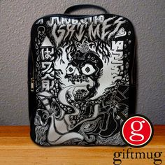 Grimes Visions Album Cover Backpack for Student