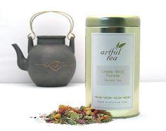 Lemon Goji Fusion Herbal Tea  Loose Leaf Herb by ArtfulTea on Etsy