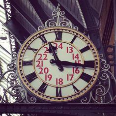 Kings Cross Station Clock