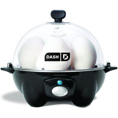 Dash Rapid Egg Cooker, Black         ** Visit the image link more details. (This is an affiliate link) #KitchenDining
