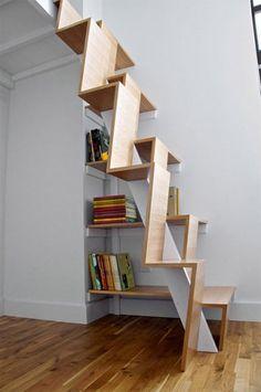 escalier peu encombrant