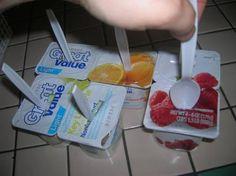 Yogurt popsicles