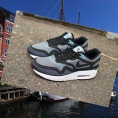 Nike Air Max 1 Breathe Pack Dark/Grey Women Shoes HOT SALE! HOT PRICE!
