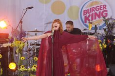 Florence and the Machine belt it out on GMA