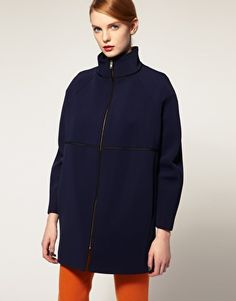 Purchased this ASOS WHITE NEOPRENE COAT, total bargain and gorgeous! Bring on winter!