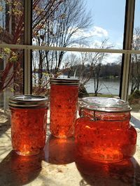 My Most Requested Recipes: Hot Pepper Jelly Chutneys, Jam Recipes, Canning Recipes, Hot Sauce Recipes, Lunch Recipes, Yummy Recipes, Pepper Jelly Recipes, Pepper Jelly Recipe With Apple Juice, Sauces