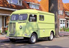 Citroen Van, Citroen Type H, Paint Schemes, Tubs, Recreational Vehicles, Automobile, Food Trucks, Track, Mini