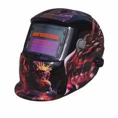 Solar Auto Darkening TIG MIG MMA Electric Welding Mask/Helmet/Welder Cap/Lens for Welding Machine DW-50KL