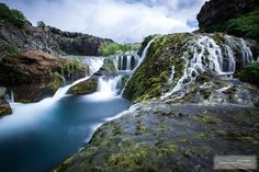 Gjain Canyon is a heavenly spot, nestling close to the waterfalls Haifoss and Granni. The sight of a maze of little falls snaking through lu...