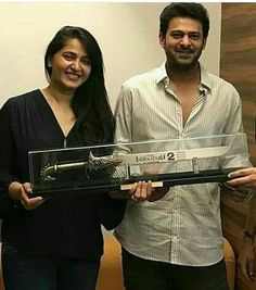 "560 Likes, 1 Comments - PRABHAS and ANUSHKA SHETTY (@praanushka) on Instagram: ""Latest """