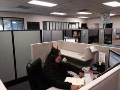 Halloween Customs at Office