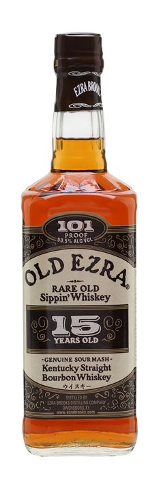 OLD EZRA BROOKS 15 YEAR OLD BOURBON, Kentucky