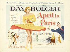 "Movie Poster: Doris Day ""April in Paris"""